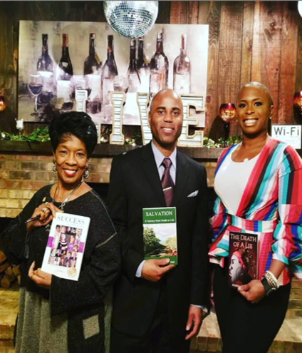 LIVE AT THE BACKHOUSE with Author Dr. Cedrick Stubblefield
